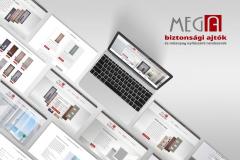 MEGADOOR WEBDESIGN weboldal
